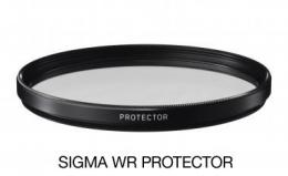 SIGMA filtr PROTECTOR 62mm WR, ochranný filtr základní vodìodpudivý
