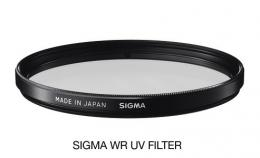 SIGMA filtr UV 62mm WR, UV filtr vodìodpudivý