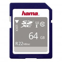 Hama SDXC 64 GB Class10 25 MB/s