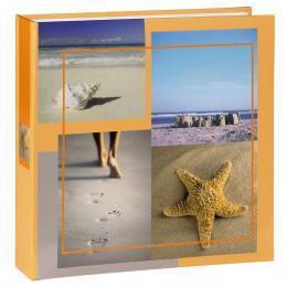 Hama album memo SEA SHELLS 10x15/200, béžové, popisové pole