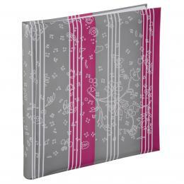 Hama album klasické CURLY 30x30 cm, 60 stran, borùvkové