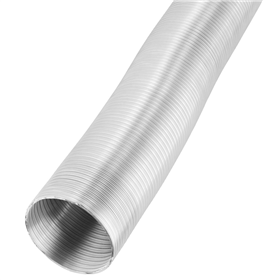 Xavax Aluminium Exhaust Pipe for Extractor Hood, diameter 120 mm, 5 m
