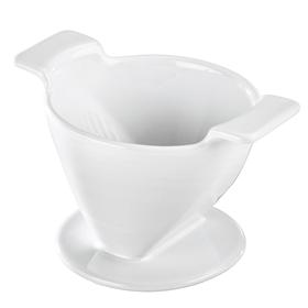 Xavax porcelánový filtr na kávu (dripper), velikost 2, bílý