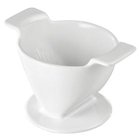 Xavax porcelánový filtr na kávu (dripper), velikost 4, bílý