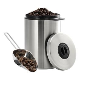 Xavax nerezová nádoba na 1 kg kávových zrn, s dávkovací lopatkou