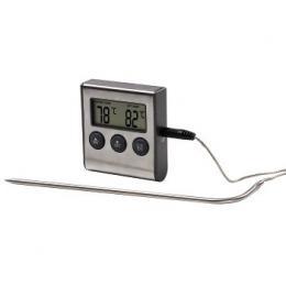 Xavax digitální teplomìr na potraviny/nápoje, s èasovaèem, senzor na kabelu
