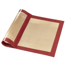 Xavax silikonová podložka na peèení, 40x30 cm, hnìdá/èervená