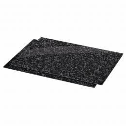 Xavax sklenìné kuchyòské prkénko Granite, 52 x 38,5 cm, set 2 ks