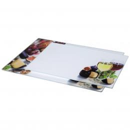 Xavax sklenìná deska na krájení Wine, 20x30 cm, 25x35 cm, set 2 ks