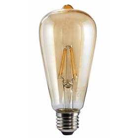 Xavax LED filament žárovka, E27, 350 lm (nahrazuje 32 W), dekorativní tvar, teplá bílá