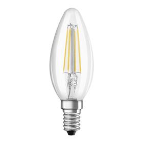 Xavax LED Filament žárovka, E14, 470 lm (nahrazuje 40 W), svíèka, teplá bílá, 2 ks v krabièce