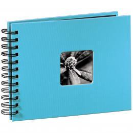 Hama album klasické spirálové FINE ART 24x17 cm, 50 stran, tyrkysové