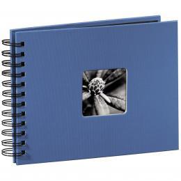 Hama album klasické spirálové FINE ART 24x17 cm, 50 stran, azurové