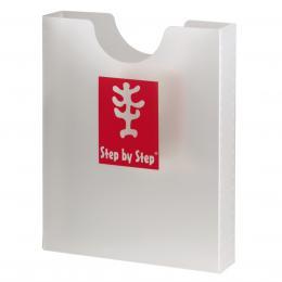 Desky na sešity Step by Step, prùhledné