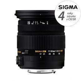 SIGMA 17-50/2.8 EX DC OS HSM Nikon F mount