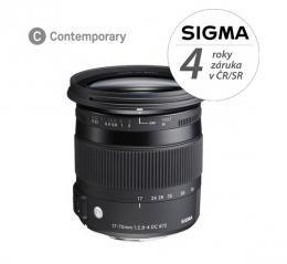 SIGMA 17-70mm F2.8-4 DC MACRO OS HSM Contemporary Nikon F mount