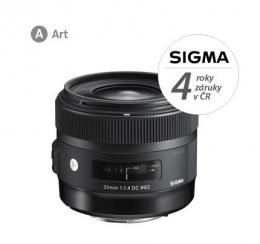SIGMA 30/1.4 DC HSM ART NIKON F mount