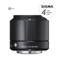 SIGMA 60/2.8 DN ART èerný SONY E mount