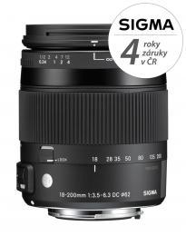 SIGMA 18-200/3.5-6.3 DC MACRO OS HSM Contemporary Nikon F mount