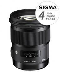 SIGMA 50/1.4 DG HSM ART Nikon