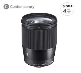 SIGMA 16mm F1.4 DC DN Contemporary pro Micro 4/3