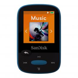 SanDisk MP3 Sansa Clip Sports 8 GB modrý