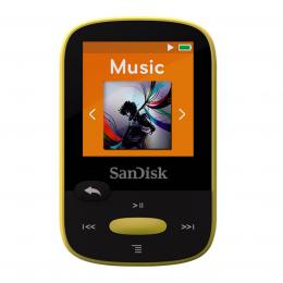 SanDisk MP3 Sansa Clip Sports 8 GB žlutý