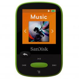 SanDisk MP3 Sansa Clip Sports 8 GB limetka