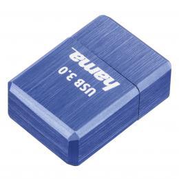 Hama FlashPen micro Cube, USB 3.0, 128 GB, 100 MB/s, modr�
