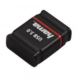 Hama FlashPen Smartly USB 3.0, 16 GB, 70 MB/s, �ern� /�erven�