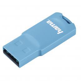 Hama FlashPen Pastell USB 2.0, 32 GB, 15 MB/s, sv�tle modr�