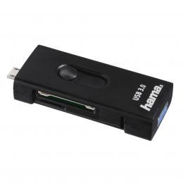 Hama �te�ka SD/mSD karet USB 3.0 OTG pro smartphone/tablet