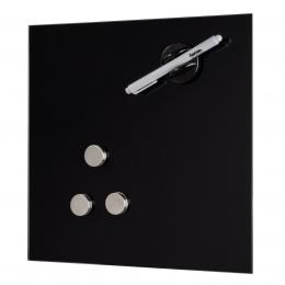 Hama sklenìná magnetická tabule, 40x40 cm, èerná