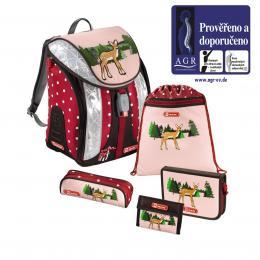 Školní batoh - 5-dílný set, Flexline Srneèek, certifikát AGR