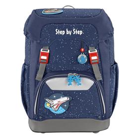 Školní batoh Step by Step GRADE Vesmírná raketa   BONUS Desky na sešity za 1,- Kè
