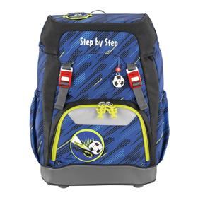 Školní batoh Step by Step GRADE Fotbal   BONUS Desky na sešity za 1,- Kè