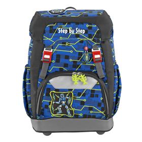 Školní batoh Step by Step GRADE Robot   BONUS Desky na sešity za 1,- Kè