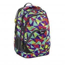 Školní batoh Coocazoo EvverClevver2, Spiky Pyramids Purple, certifikát AGR