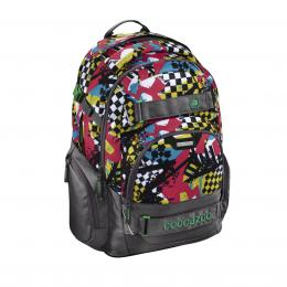 Školní batoh Coocazoo CarryLarry2, Checkered Bolts