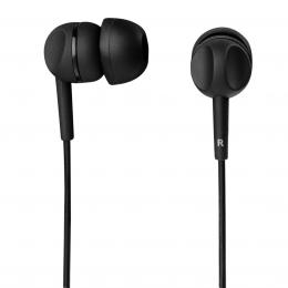 Thomson sluchátka s mikrofonem EAR3005, silikonové špunty, èerná