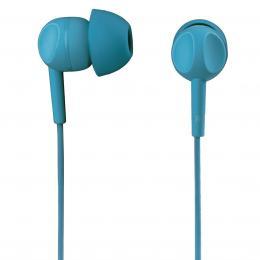 Thomson sluchátka s mikrofonem EAR3005, silikonové špunty, tyrkysová