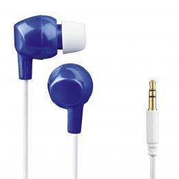 Thomson dìtská sluchátka EAR3106, silikonové špunty, modrá/bílá