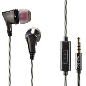 Thomson sluchátka s mikrofonem EAR3207, antracitová