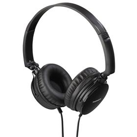 Thomson on-ear sluchátka s mikrofonem HED2207, èerná