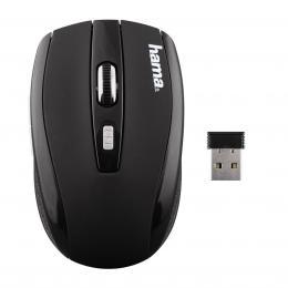 Hama optická bezdrátová myš AM-7800, èerná