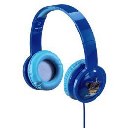 Hama dìtská sluchátka Kids LED, uzavøená, modrá