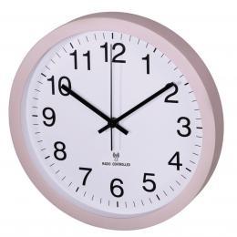 Hama nástìnné hodiny PG-300, øízené rádiovým signálem, tichý chod, tìlové