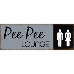 Xavax Pee Pee Lounge, dekoraèní tabulka na stìnu, 39x14 cm