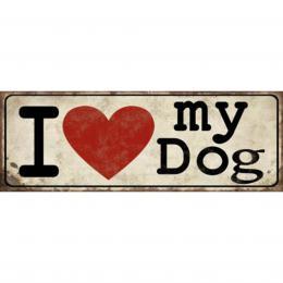 Xavax Dog, dekoraèní tabulka na stìnu, 39x14 cm