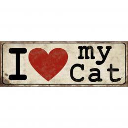 Xavax Cat, dekoraèní tabulka na stìnu, 39x14 cm